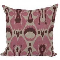 Pillows - Ikat Pillow - Pink - Pillows - Accessories | Jayson Home - ikat, pillow, pink