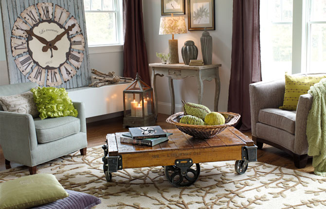 Living room Home decor home goods
