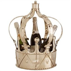Decor/Accessories - Anne Metal Champagne Bucket | Arteriors - anne, metal, champagne, bucket