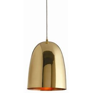 Savoy Polished Brass Pendant, Arteriors
