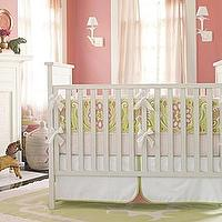 Bedding - Lola Crib Bedding Collection for Baby Girl Nursery | Serena &amp; Lily - lola, crib, bedding