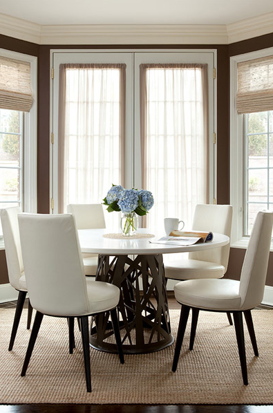 dining room - The Elegant Abode