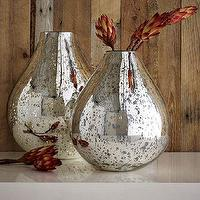 Decor/Accessories - Silver Mercury Vases | west elm - silver, mercury, vases