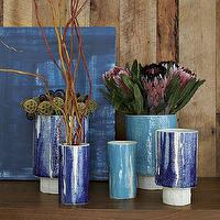 Decor/Accessories - Elephant Ceramics | west elm - elephant, ceramic, vases