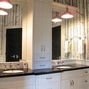 Absolute Black Granite, Contemporary, bathroom, Veranda Interiors