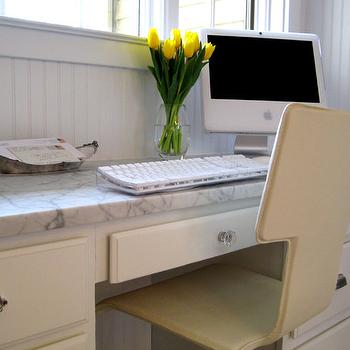 Built In Desk, Transitional, kitchen, Summer Thornton Design