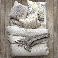 Bedding - Layered Bed Looks - Seeing Spots | west elm - layered bed looks, seeing, spots