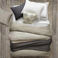 Bedding - Layered Bed Looks - Neutral Luxe Linen | west elm - layered bed looks, neutral luxe linen