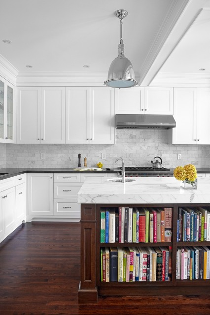 statuario marble countertops contemporary kitchen