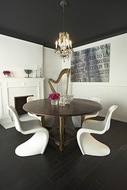 Panton Dining Chairs Eclectic Room Palmerston