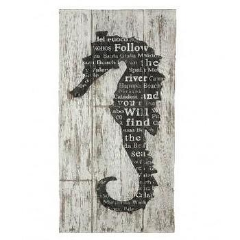 Art/Wall Decor - Seahorse Wall Art - Art - Decor - seahorse, wall art