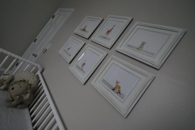 Nursery Art Wall, Traditional, nursery, Olympic Tightrope