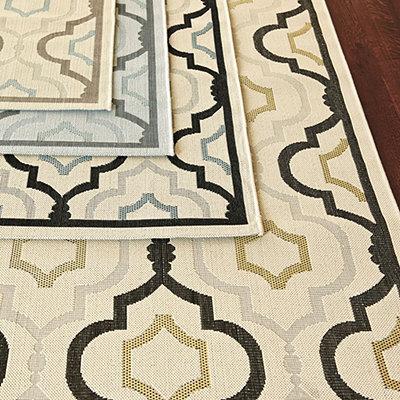 Saybrook Indoor/Outdoor Rug, European-Inspired Home Furnishings, Ballard Designs