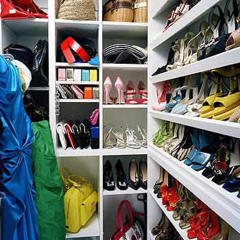Douglas Friedman - closets - walk-in, shoe racks, bags, cubbies, shoe cabinet, shoe cabinet, shoe shelves, shelves for shoes, shoe storage, closet shoes, shoe closet, closet shoe shelves, shoe racks, closet shoe racks, glass shoe cabinet,