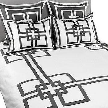Bedding - Z Gallerie - Paramount Bedding - Grey - paramount, bedding, gray