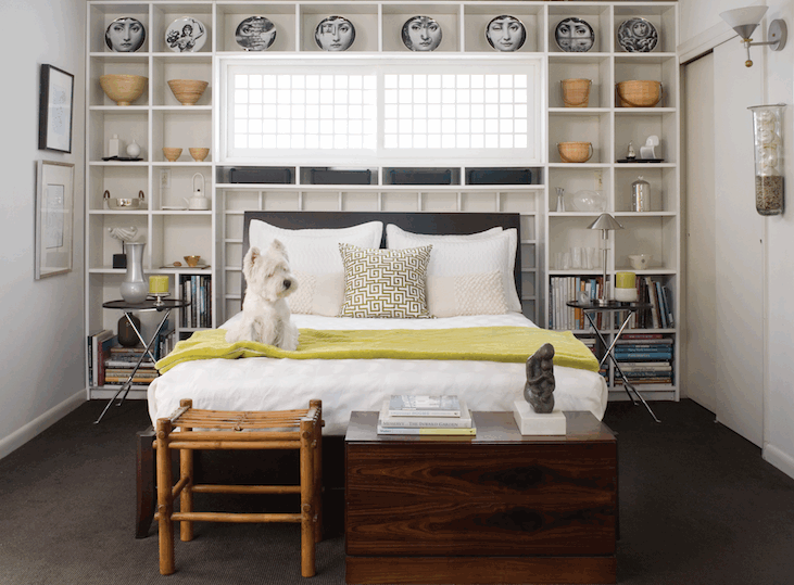 bookcases in bedroom styles  lowshine, Headboard designs