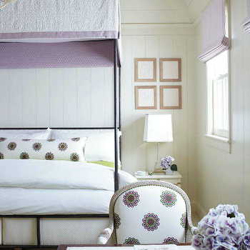 Girl's Canopy Bed, Contemporary, girl's room, Traditional Home
