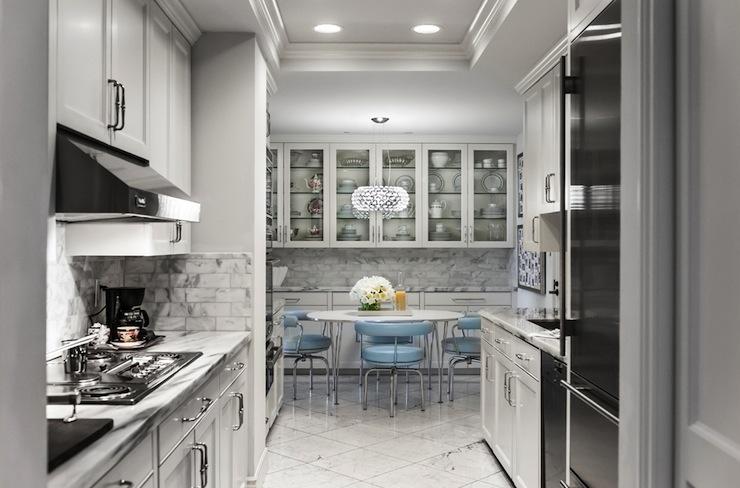 Galley Kitchen Design Eclectic Kitchen Janet Rice
