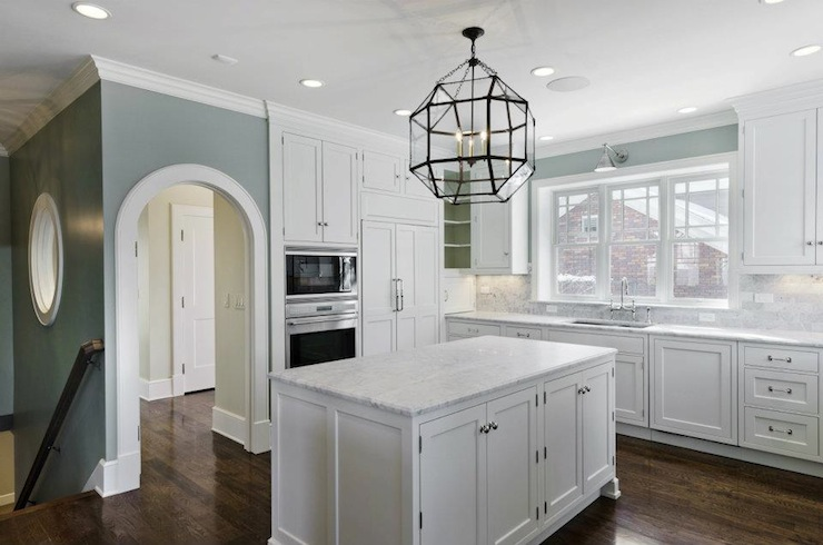 Morris Pendant - Transitional - kitchen - Cameo Homes
