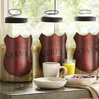 Decor/Accessories - Breakfast Glass Canisters | Pottery Barn - breakfast, glass, canisters