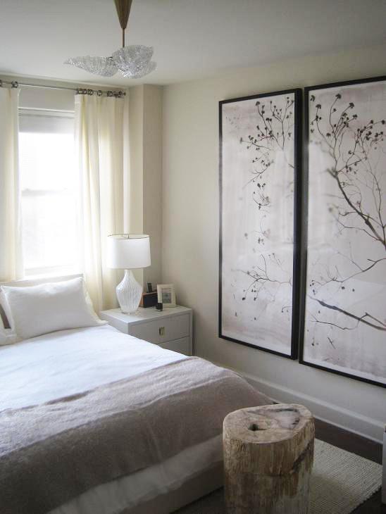 Farmhouse Bedroom Window Treatments Fabrics