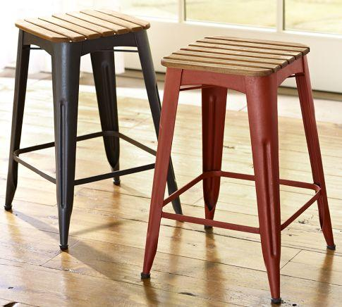 Tavern Stacking Barstool Pottery Barn
