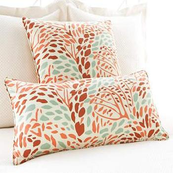 Pine Cone Hill �?» Toadstool Russet Decorative Pillow
