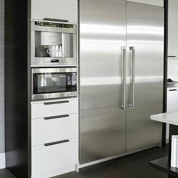 Built In Coffee Machine, Contemporary, kitchen, Croma Design