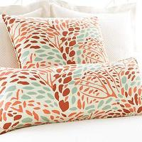 Pillows - Pine Cone Hill �?» Toadstool Russet Decorative Pillow - toadstool, russet, pillow