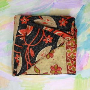 Bedding - Kantha Quilt IV - kantha, quilt