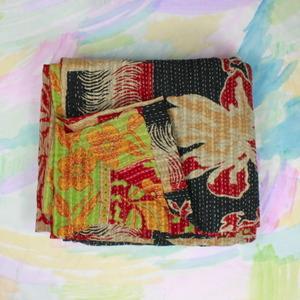 Bedding - kantha quilt V - kantha, quilt