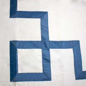 Bedding - Greek Key Duvet- Blue - blue, Greek key, duvet