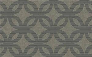 Geometric Wallpaper in Neutrals and Metallic by Antonina Vella, Seabrook Designs, Seabrook Wallpaper, BurkeDecor.com