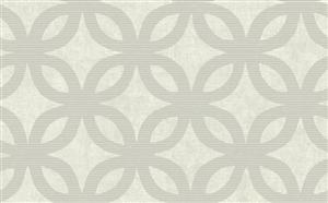 Wallpaper - Geometric Wallpaper in Neutrals and Metallic by Antonina Vella - Seabrook Designs | Seabrook Wallpaper | BurkeDecor.com - metallic, geometric, wallpaper