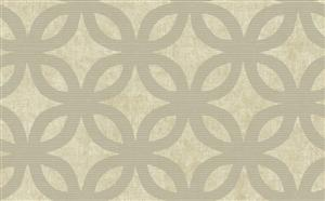 Wallpaper - Geometric Wallpaper in Neutrals and Metallic by Antonina Vella - Seabrook Designs | Seabrook Wallpaper | BurkeDecor.com - geometric, wallpaper, neutrals, metallic,