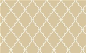 Trellis Wallpaper in Cream and Ivory by Antonina Vella, Seabrook Designs, Seabrook Wallpaper, BurkeDecor.com