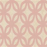 Wallpaper - Geometric Wallpaper in Neutrals and Pink by Antonina Vella - Seabrook Designs | Seabrook Wallpaper | BurkeDecor.com - pink, geometric, wallpaper