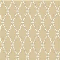 Wallpaper - Trellis Wallpaper in Cream and Ivory by Antonina Vella - Seabrook Designs | Seabrook Wallpaper | BurkeDecor.com - cream, ivory, trellis, wallpaper