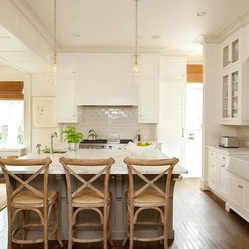 French Cafe Stools, Transitional, kitchen, Gwyn Duggan Design