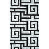 Rugs - Ecconox Rome Black Rug - ecconox, rome, black, rug