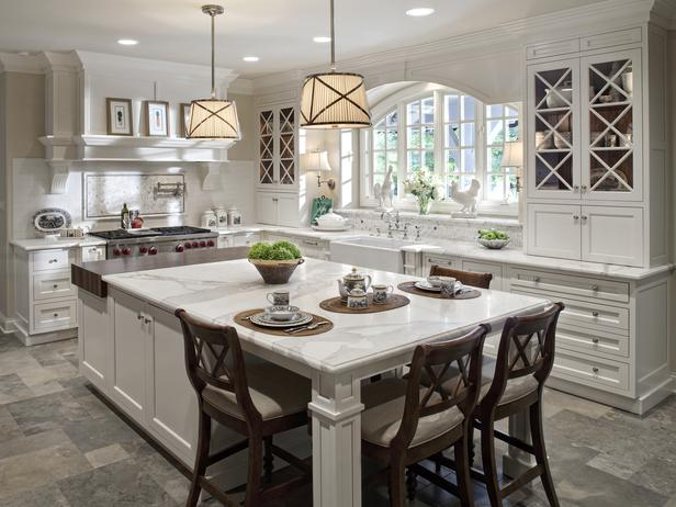 Drury Designs - kitchens - Grosvenor One-Light Downlight,  island