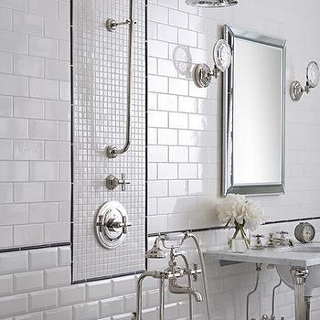 Subway Tile Backsplash, Contemporary, bathroom, Ann Sacks