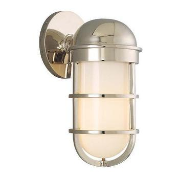 Lighting - Groton Polished Nickel 10 1/2 - groton, polished nickel, sconce