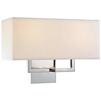 Lighting - George Kovacs Rectangle Chrome 11 - george kovacs, rectangle, chrome, sconce