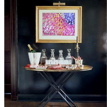Oval Tray Table, Contemporary, entrance/foyer, Elle Decor