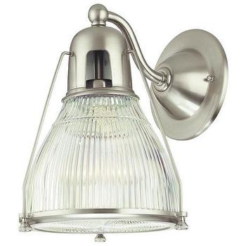 Lighting - Hudson Valley Haverhill Satin Nickel Wall Sconce | LampsPlus.com - hudson valley, haverhill, satin, nickel, wall, sconce