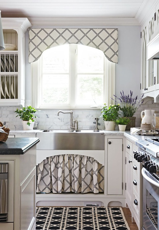 Image Result For Kitchen Curtain Above Sink