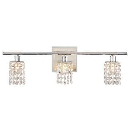 Lighting - Sparkle Chrome 23 1/4 - sparkle, chrome, sconce