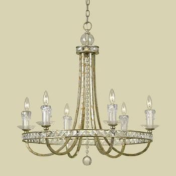 Lighting - Candice Olson 7451-6H 6 Light Aristocrat Chandelier - Lighting Universe - candice olson, aristocratic, chandelier