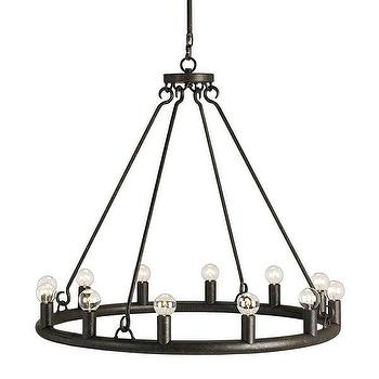 Currey & Company 9813 Wilford 12 Light Chandelier, Lighting Universe
